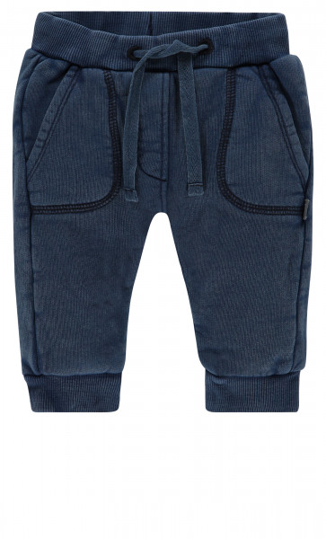 Joggingbroek Arlesey Indigo Blue Dyed