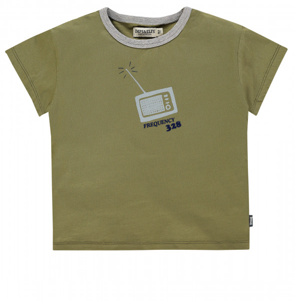T-shirt Detroit Olive Green