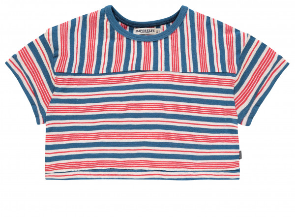 T-shirt El Paso Blue Red Stripe
