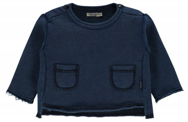 Sweater Ardglass Indigo Blue Dyed