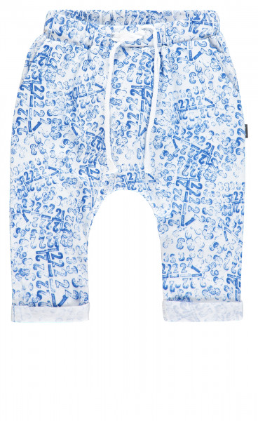 Joggingbroek Arizona Surf Blue Number Stamp