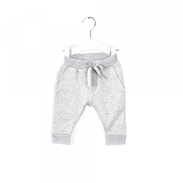 Joggingbroek snow melange