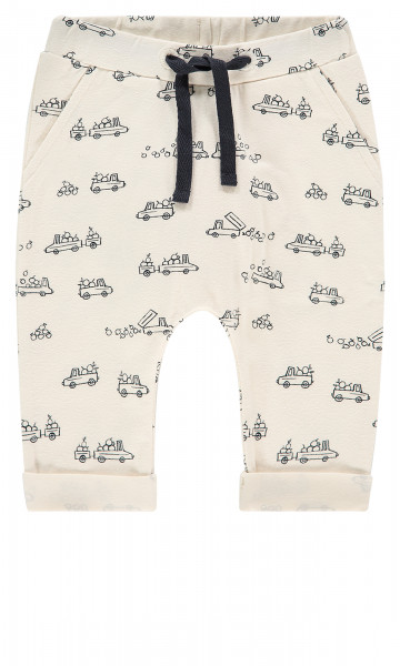Joggingbroek Alborfield Antique White AOP Cars