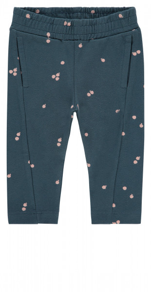 Joggingbroek Aboyne Orion Blue AOP Apples