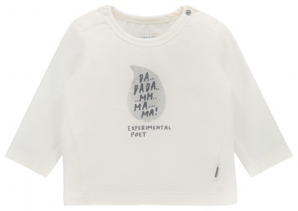 Longsleeve Painting white