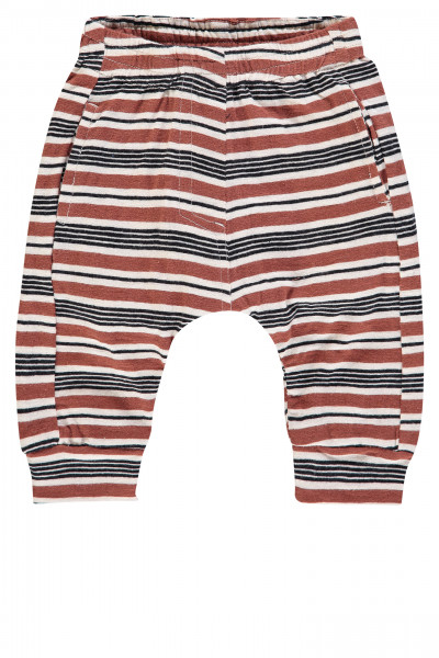 Joggingbroek Nevada Brown Black Stripe