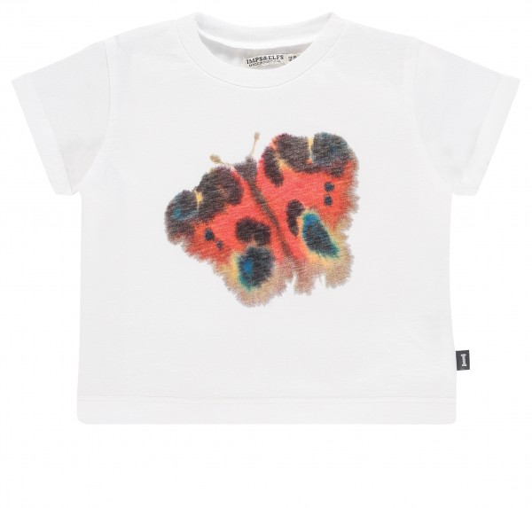 T-shirt Van Mierlo (62-104) white - butterfly