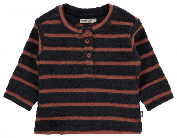 Sweater Aldershot Blue Graphite Stripe