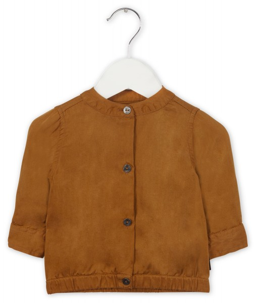 Blouse warm cinnamon