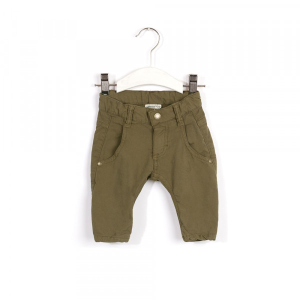Broek night green