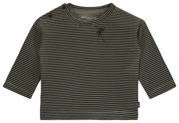 Longsleeve Tea Green stripe