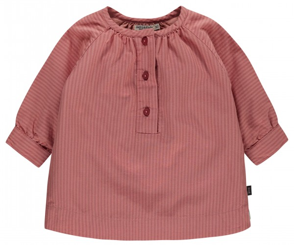 Jurk Dusty Pink stripe