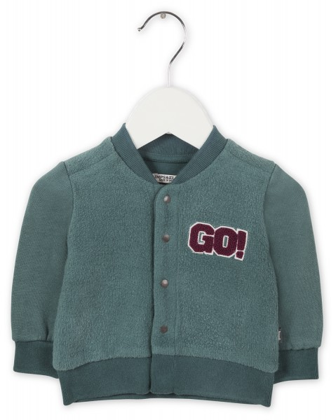 Vest cloudy green