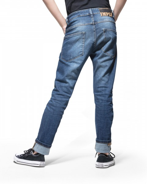 Jeans Tapered Fit Stone used blue