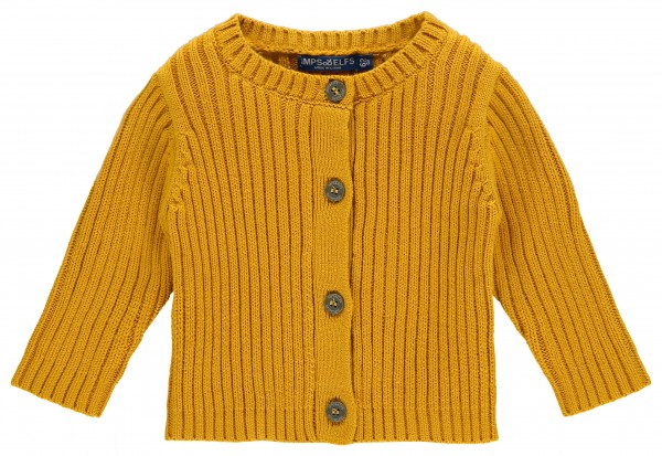 Vest Luca Knit warm yellow