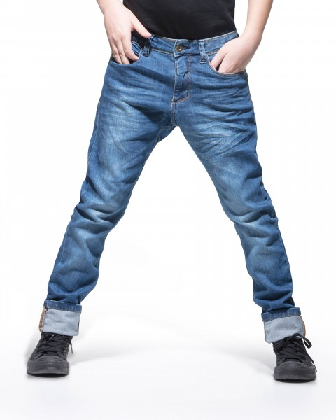Jeans Tapered Fit ocean blue